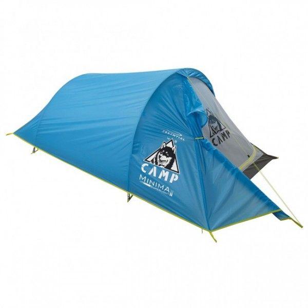 Camp Minima 2 SLje kvalitný, ľahučký, dvojplášťový stan pre dvoch s hmotnosťou len 1,5 kg.Stan Camp Minima 2 SLje vďaka svojej hmotnosti a kvalite veľmi obľúbený vsvojej kategórii.