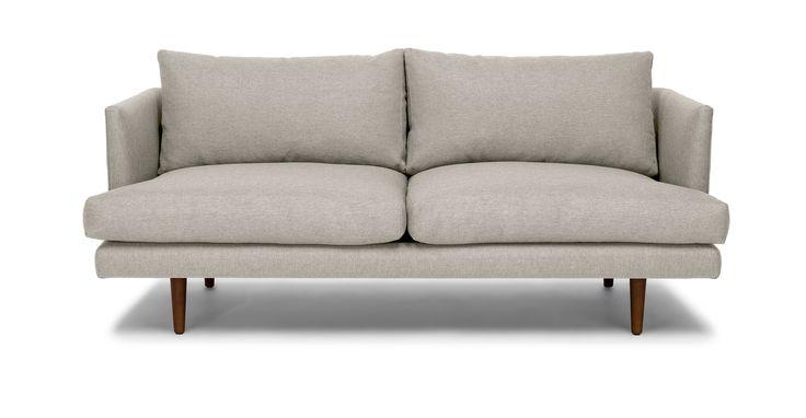 Burrard Seasalt Gray Loveseat - Loveseats - Article | Modern, Mid-Century and Scandinavian Furniture