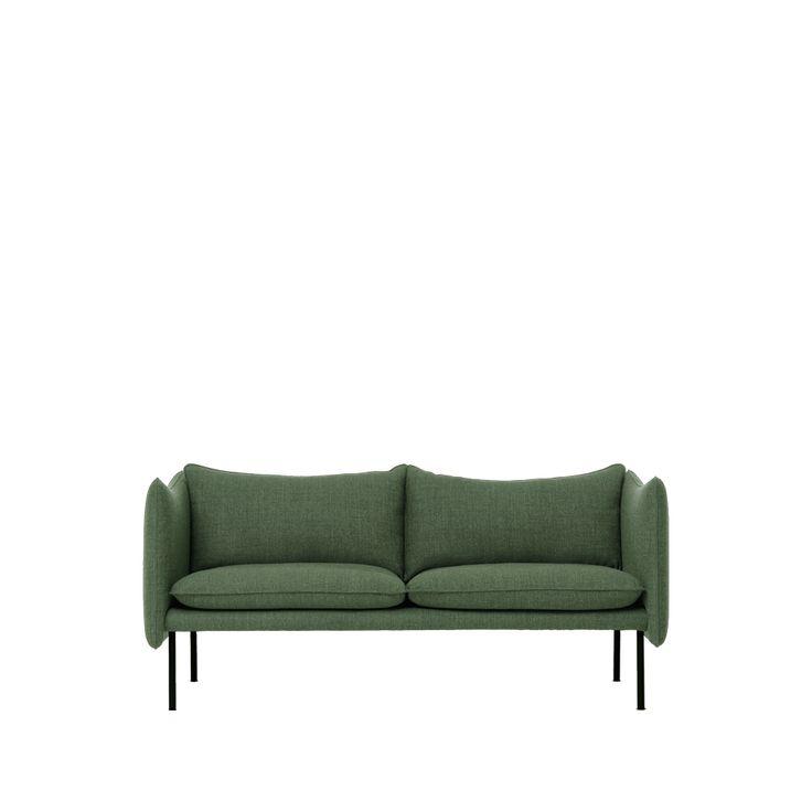 Tiki soffa - Tiki soffa - 2-sits, grön