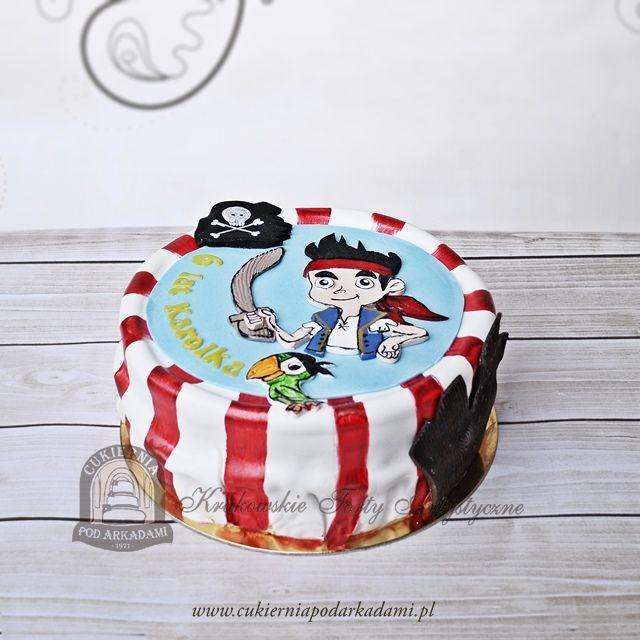 77BD Jake i Piraci z Nibylandii. Jake and the Never Land Pirates cake.