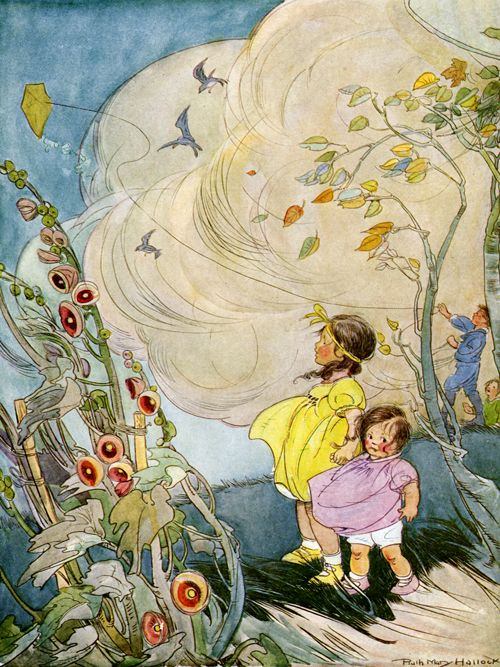 Story Book Sundays - The Wind - Illustrated by Ruth Hallock