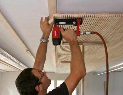 Echtholz-Akustikelement Ligno Akustik light jetzt auch für Versammlungsstätten