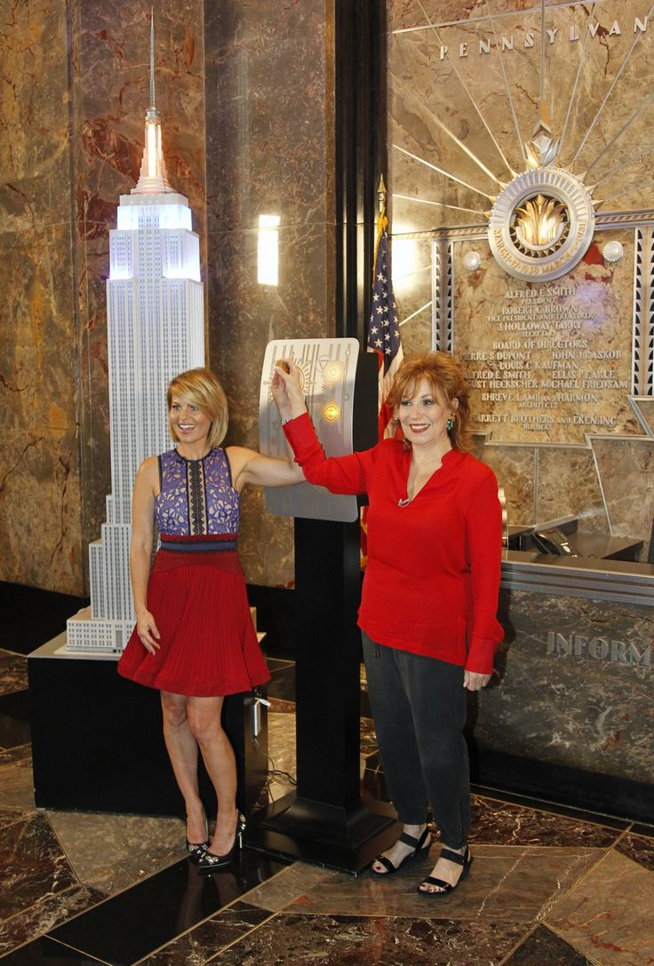 The View's Joy Behar and Candace Cameron Bure Light the Empire State Building in Honor of Historic 20th Season | The View