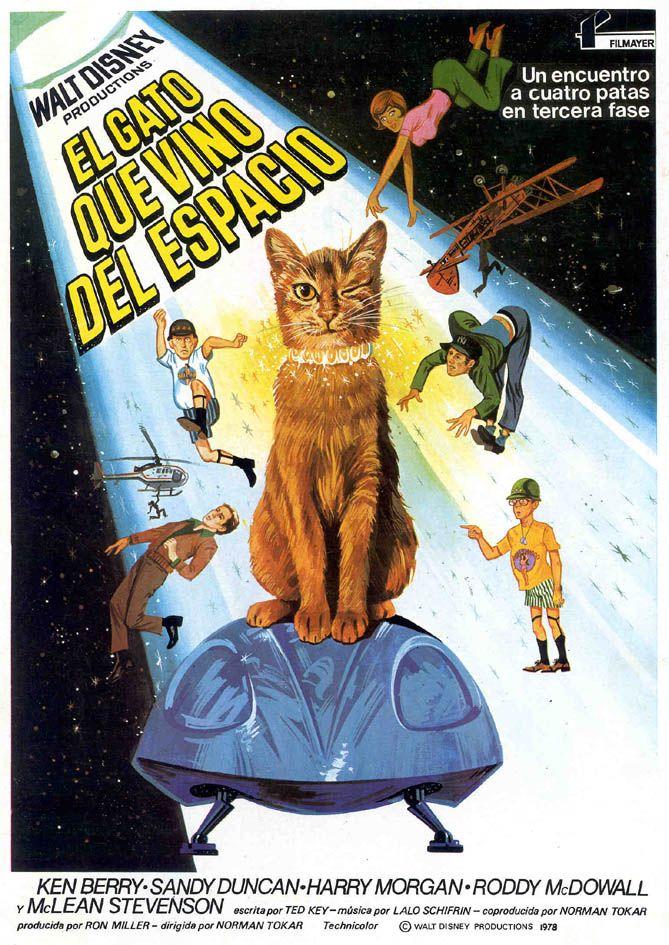 El gato que vino del espacio - The Cat From Outer Space