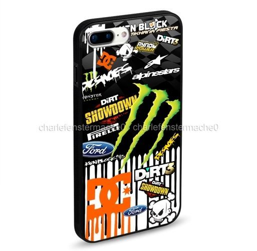 New Sticker Bomb Automotive For iPhone 7 and 7 Plus Hard Plastic Case #UnbrandedGeneric