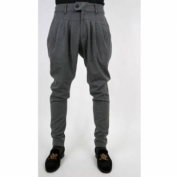 Men's Fashion Casual Fold Pockets Trousers Harem Pants at Banggood