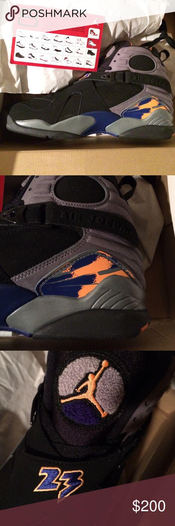 Air Jordan retro 8 Men's size 12 air Jordan retro 8 sneakers Air jordan  Shoes Sneakers