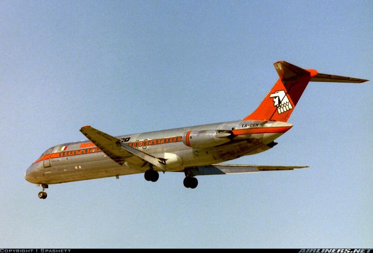 AeroMexico McDonnell Douglas DC-9-32 Los Angeles - International (LAX / KLAX) USA - California, 1979