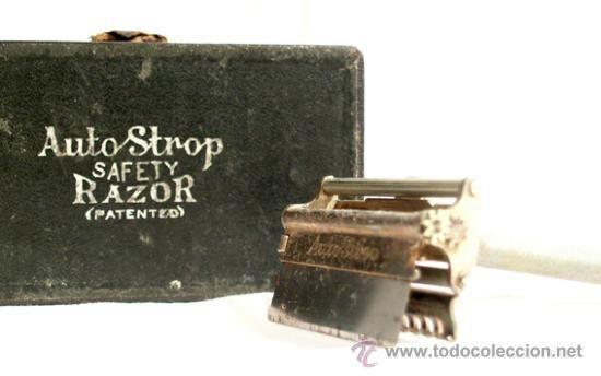 Antigua *Auto Strop Safety RAZOR Co. New York - London* Máquinilla de afeitar con caja original