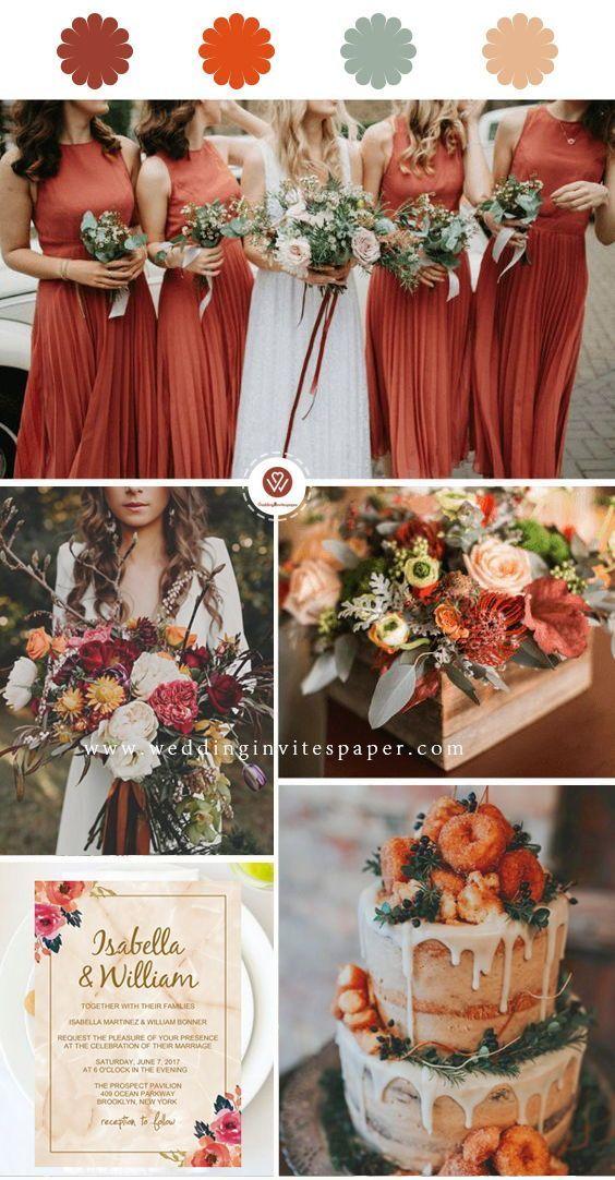 Elegant Marble Floral Wedding Invitation WIP039