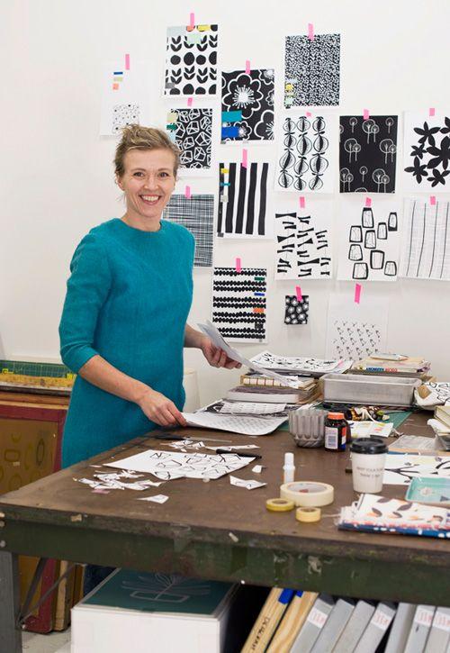 Lotta Jansdotter - textile designer