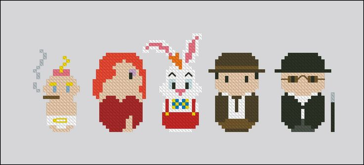 Who Framed Roger Rabbit - Cross Stitch Patterns - Products