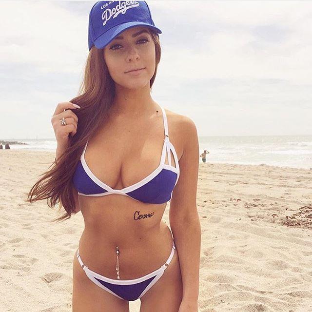 Dodgers Bikini Swimwear