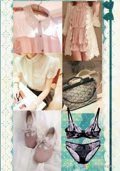 Are these lace items what you love?  #romwe