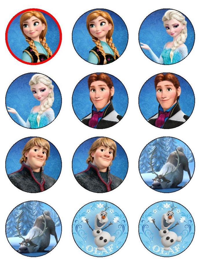 Frozen Cupcake Toppers Frozen Cupcake Toppers Frozen