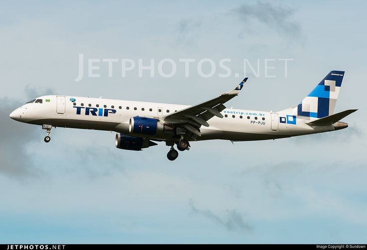 Embraer ERJ-190LR, TRIP Linhas Aéreas, PP-PJU, cn 19000541, 106 passengers, TRIP delivered 17.5.2012. Foto: Belo Horizonte, Brazil, 25.2.2013.