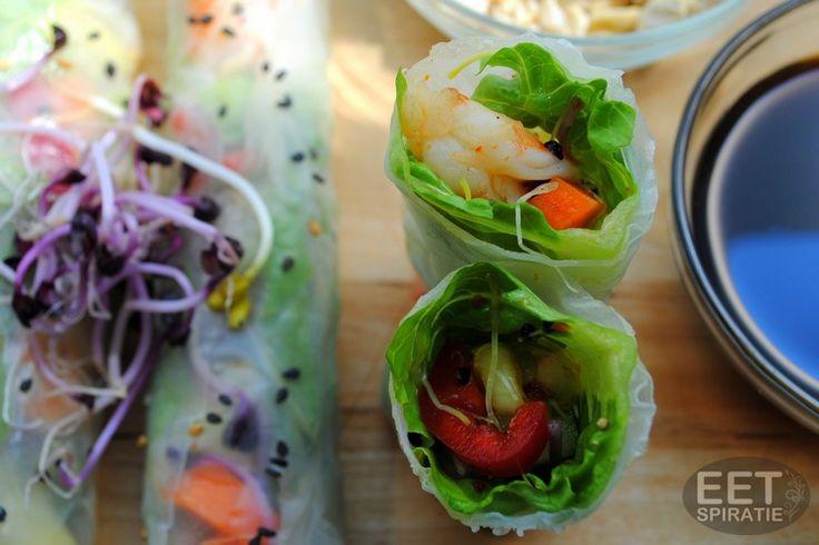 springroll salade 1