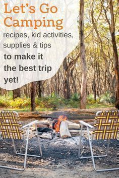 simpletenting.com camping with kids, camping food, camping meals, ca…