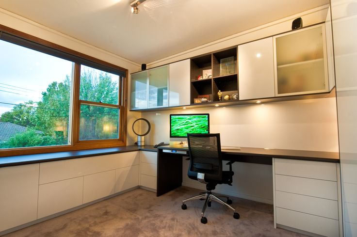 Modern, organised and functional home offices designed and manufactured in Australia.