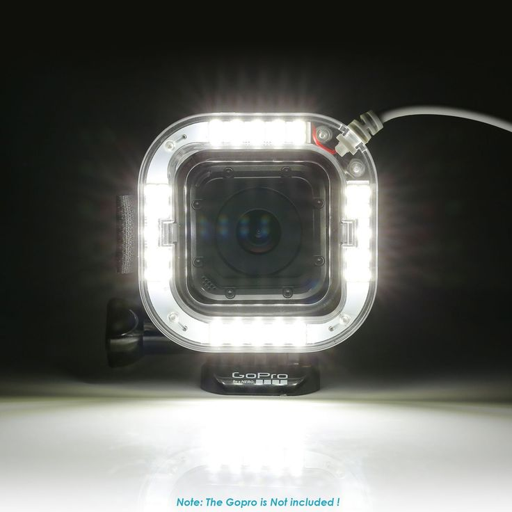 Bestlight® Port USB 38 LED Anneau Tournage Flash DE Nuit Eclairage pour GoPro Hero 4 Session Caméras: Amazon.fr: Photo & Caméscopes