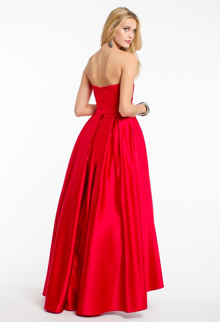 161 best prom dresses high low images on pinterest dress styles strapless satin high low dress from camille la vie and group usa ombrellifo Images