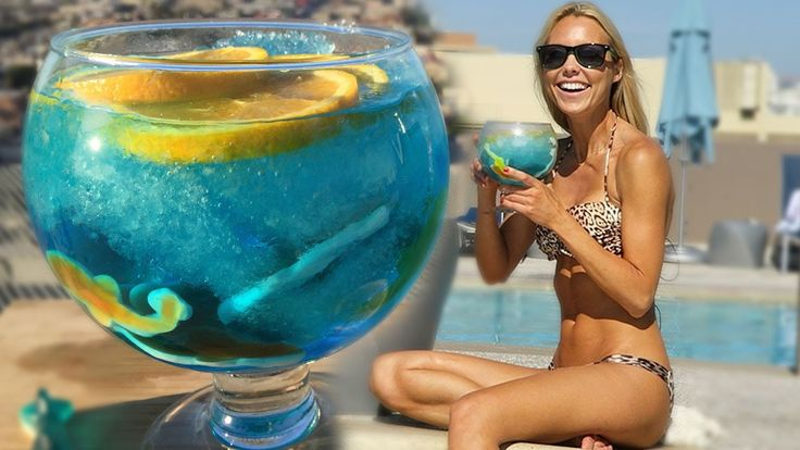 The Great White Shark Week Cocktail - Tipsy Bartender