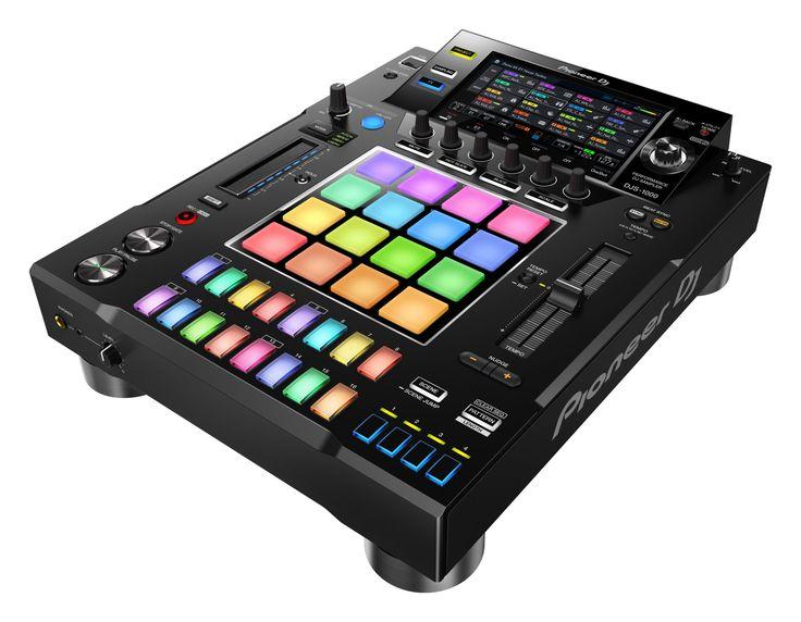 It's real — the DJS-1000 is a sampler and sequencer in a CDJ box - https://djworx.com/pioneer-dj-djs-1000-sampler-sequencer/
