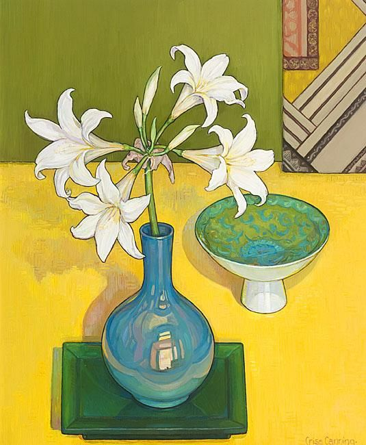 Belladonna, Green and Gold by Criss Canning