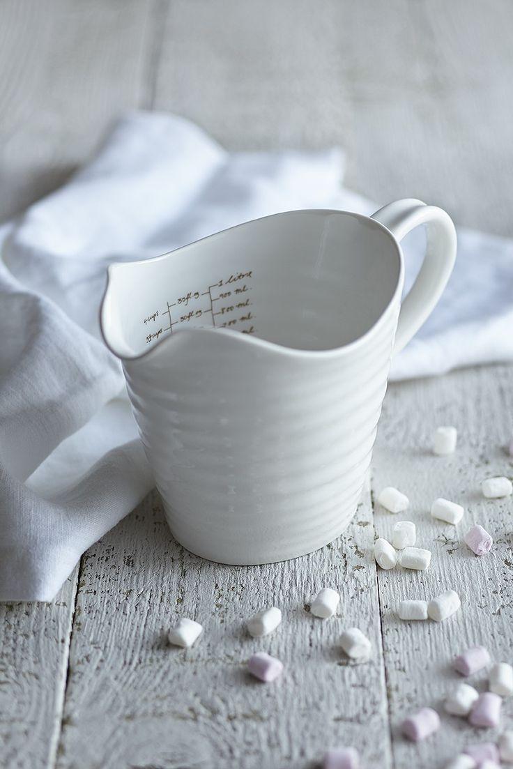 White Ceramic Measuring Jug - Sophie Conran Shop