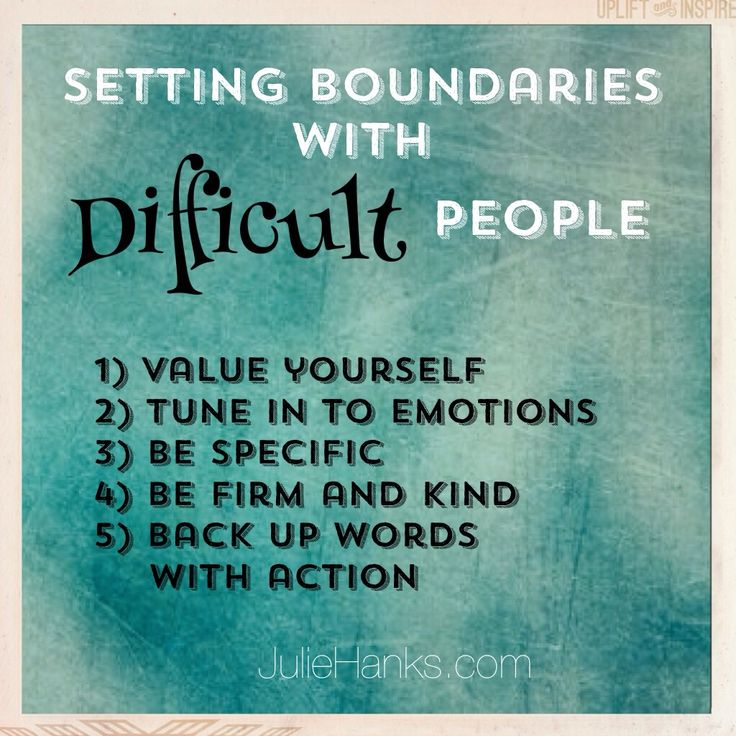 personal boundaries in a relationship