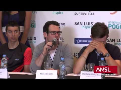 "Mark Cavendish answers doping-question from journalist! ""Can you tell me 100% that one of these journalists isn't f***ing your wife?"" Mamma Mia!!"