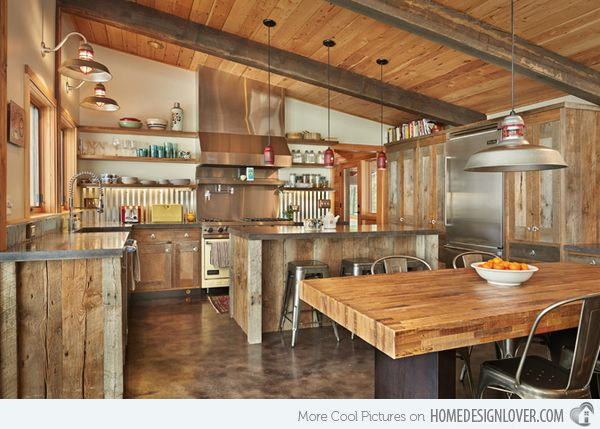 15 Interesting Rustic Kitchen Designs Part 55