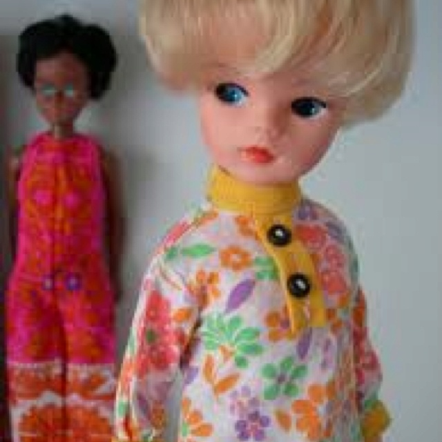 Sindy - with a pudding basin hairdo!