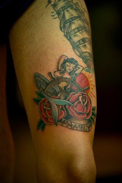True Old style tattoo