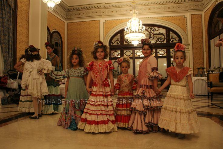 We Love Flamenco 2015 · CAYETANA Y SEVILLA – Taller de Diseño | Por Elena Rivera vía Mamá de Mayor Quiero Ser Flamenca.