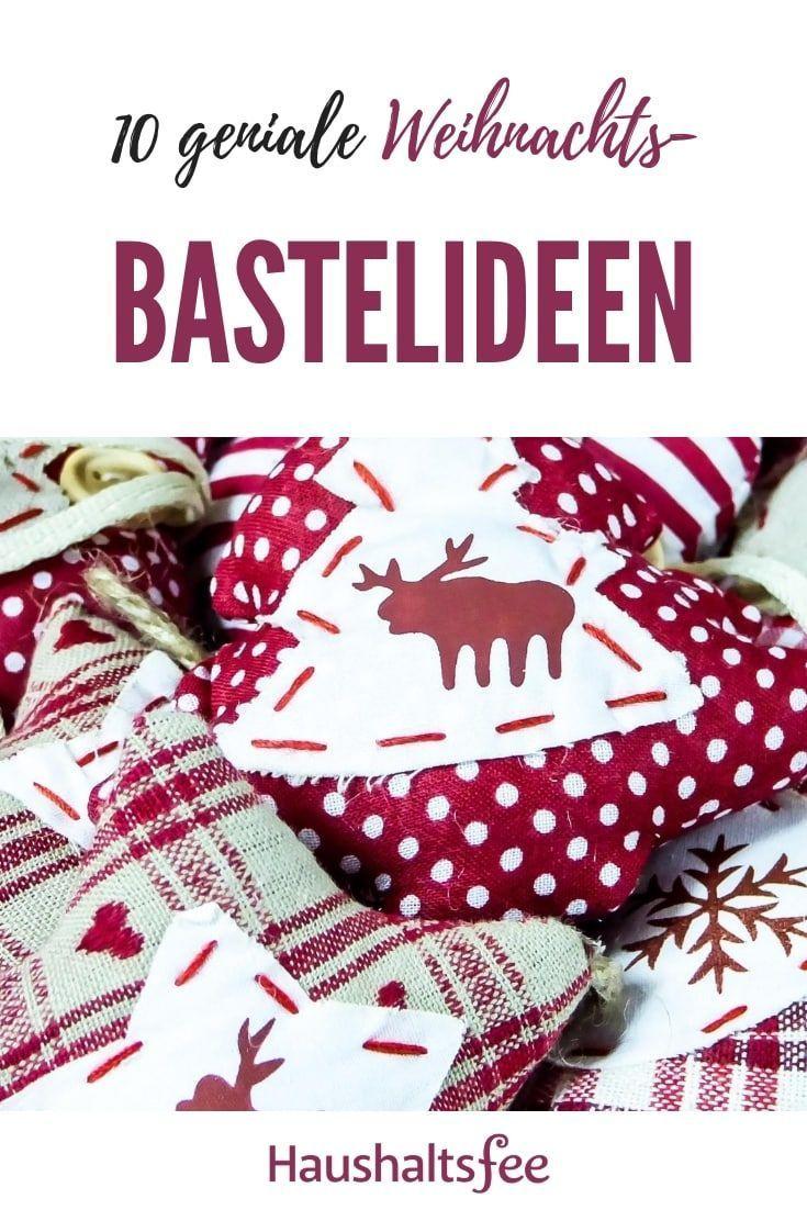 Genial: Die 10 originellsten Xmas-Bastelideen | #Weihnachten #Xmas #basteln #Kin…