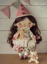 Авторская кукла Елены Уляшёвой