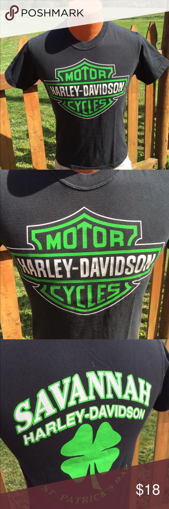Harley Davidson St Patrick's Day Mens T Shirt Size small. Super gently preowned. Be sure to view the other items in our closet. We offer both women's and Mens items in a variety of sizes. Bundle and save!! Thank you for viewing our item!! Harley-Davidson Shirts Tees - Short Sleeve