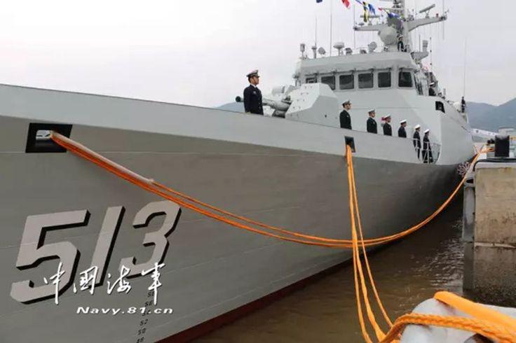 Angkatan Laut Tiongkok Terima Kapal Korvet Tipe 056 Terbaru | http://www.hobbymiliter.com/5487/angkatan-laut-tiongkok-terima-kapal-korvet-tipe-056-terbaru/