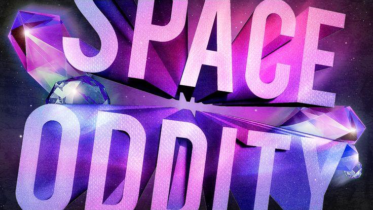Space Oddity on Behance