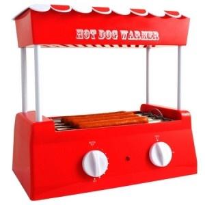Véritable accessoire à la fois utile et indispensable pour votre cuisine, la machine à hot dog vous permettra de passer un vrai moment de régal alimentaire ! A offrir en tant que cadeau original et gadget insolite, petits comme plus grands vont l'adorer. Et grâce à son grill tournant, elle saura être le gadget parfait ! A retrouver en intégralité sur http://www.pinklemon.fr ! Pinklemon, le zeste d'idée cadeau original.