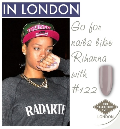 Go for nails like Rihanna with Bio Sculpture Gel