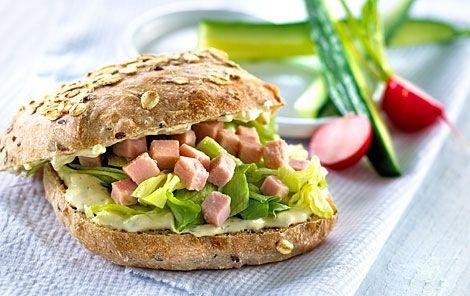 lækker mad til madpakken eller picnicturen.