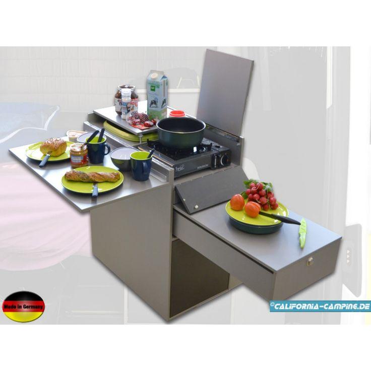 James 30 - Das VW T5 und T6 California Beach Startline Mulitvan - küchen mülleimer einbau