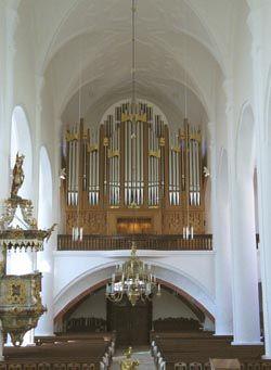 Weiden/Oberpfalz, ev. St. Michaelskirche - Orgelbau Weimbs