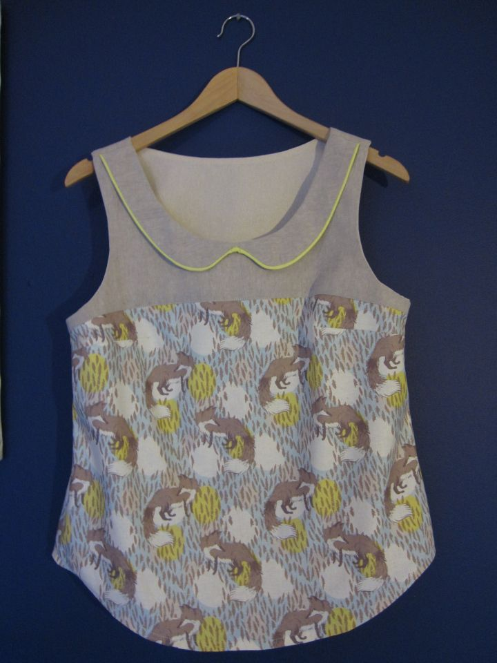 Datura blouse front