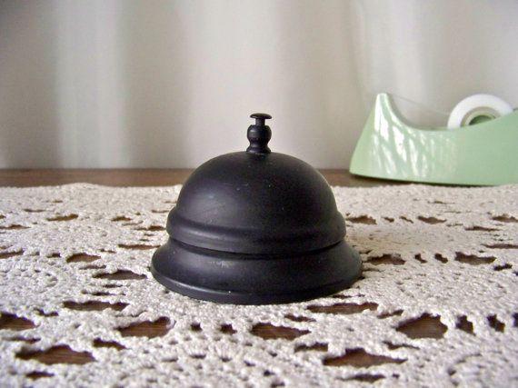 Vintage Front Desk Bell Hotel Bell Working Office by cynthiasattic, $24.00 - 24 Best Hotel Bells Images On Pinterest Le'veon Bell, Door Bells