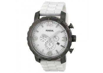 Reloj Fossil R12008. Blanco de goma $417.900