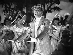 """Yankee Doodle Dandy is a 1942 American biographical musical film about George M. Cohan, known as """"The Man Who Owns Broadway"""".[1] It stars James Cagney, Joan Leslie, Walter Huston, and Richard Whorf, and features Irene Manning, George Tobias, Rosemary DeCamp and Jeanne Cagney."""