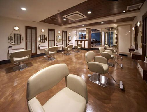 Beauty salon design ideas